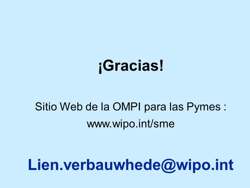 Sitio Web de la OMPI para las Pymes :
