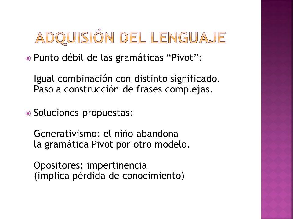 Adquisión del lenguaje