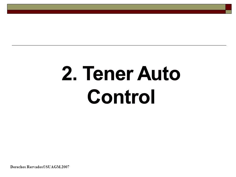 2. Tener Auto Control