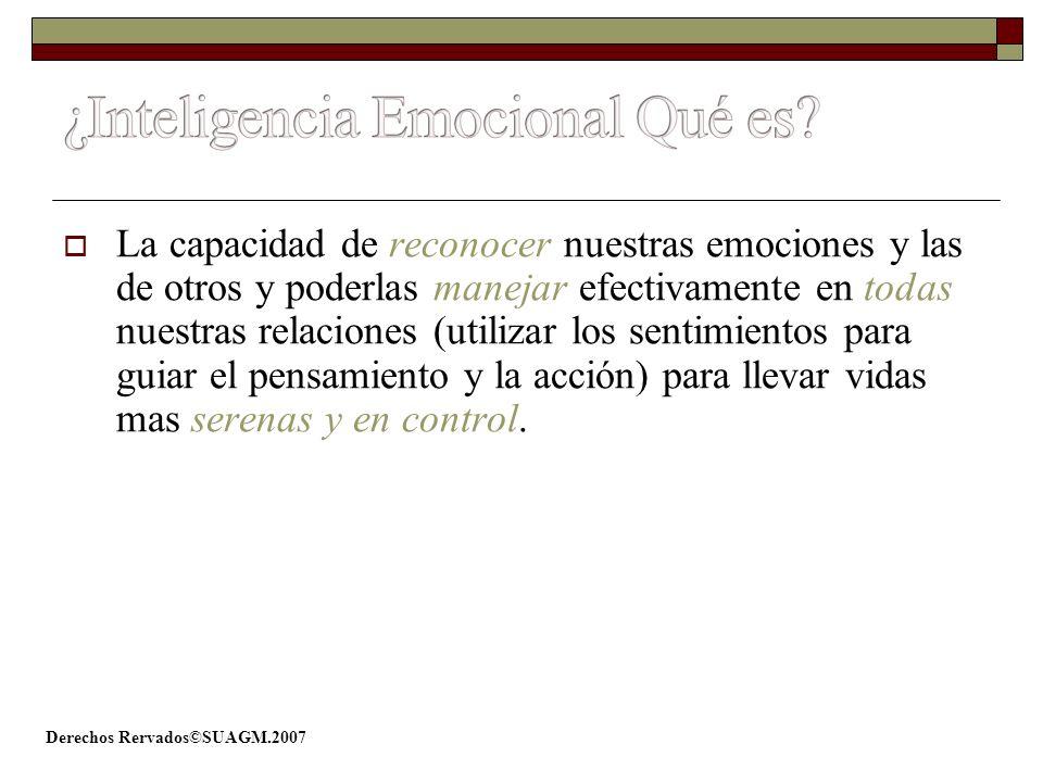 ¿Inteligencia Emocional Qué es