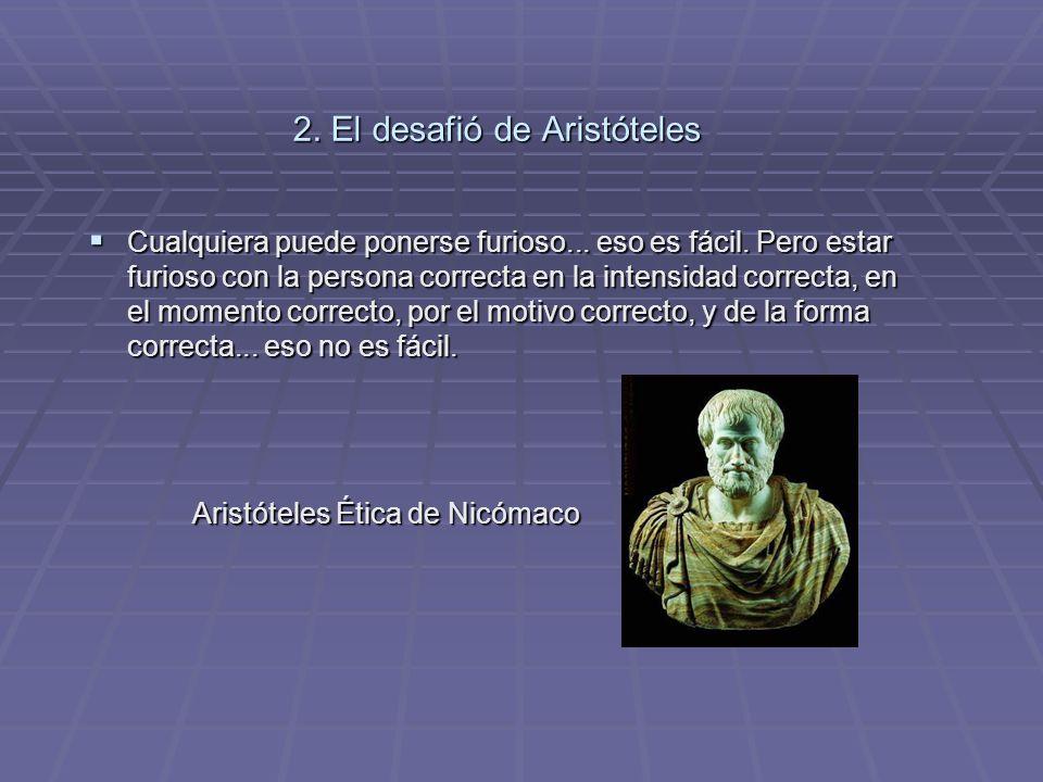 2. El desafió de Aristóteles
