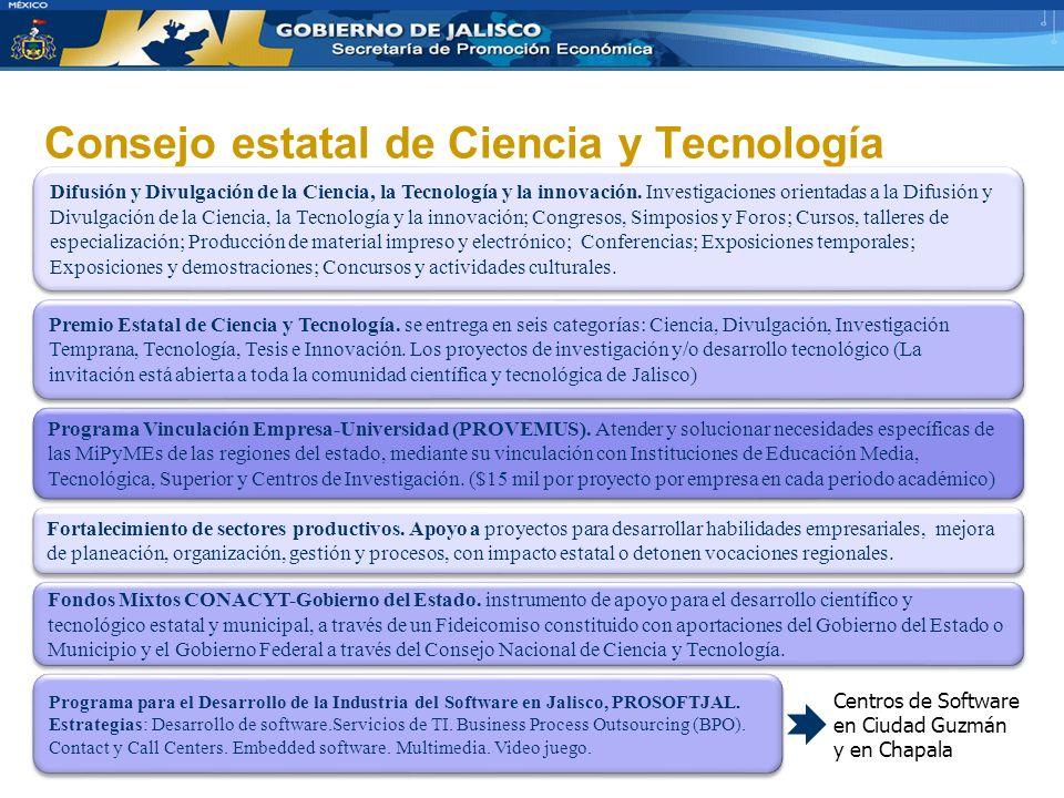 Consejo estatal de Ciencia y Tecnología