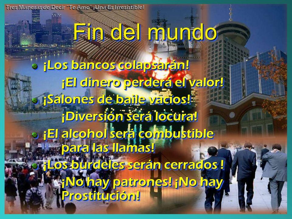 Fin del mundo ¡Los bancos colapsarán! ¡El dinero perderá el valor!