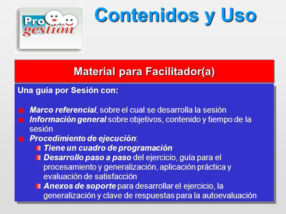 Material para Facilitador(a)
