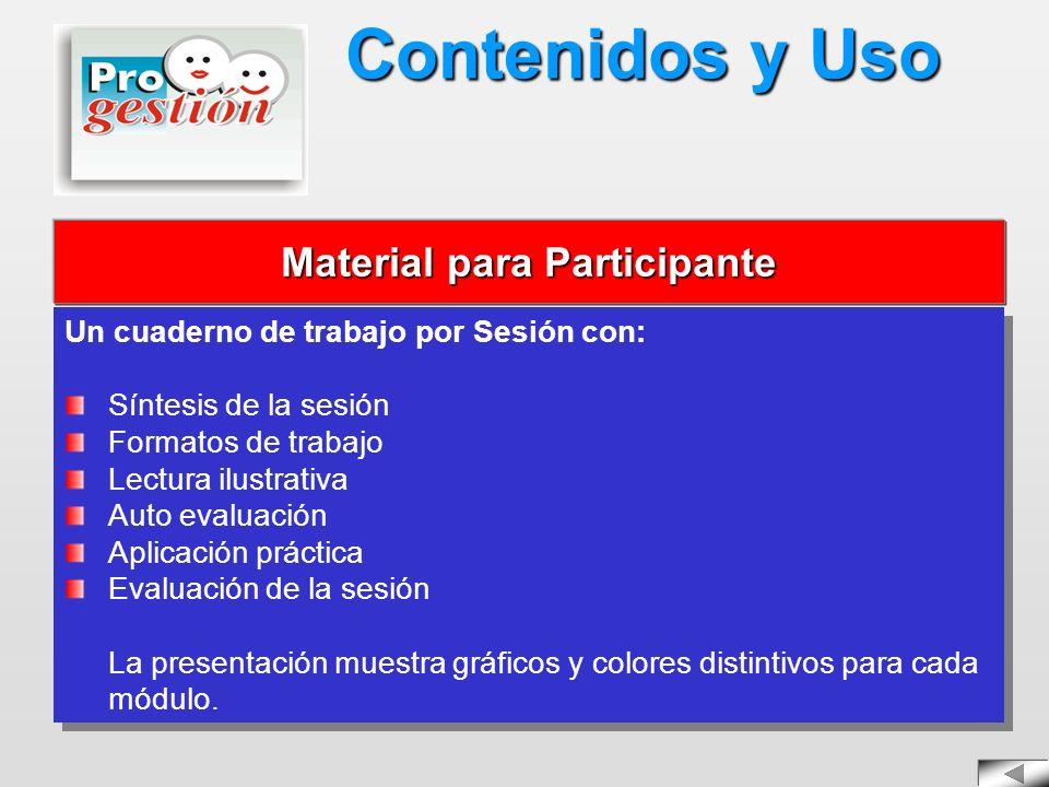 Material para Participante