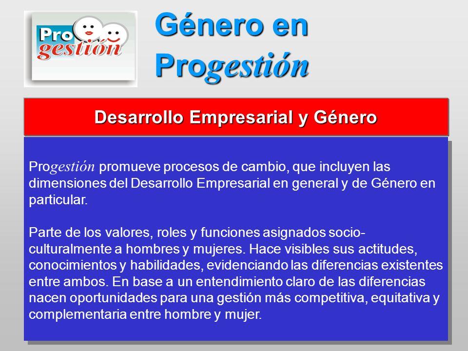 Desarrollo Empresarial y Género