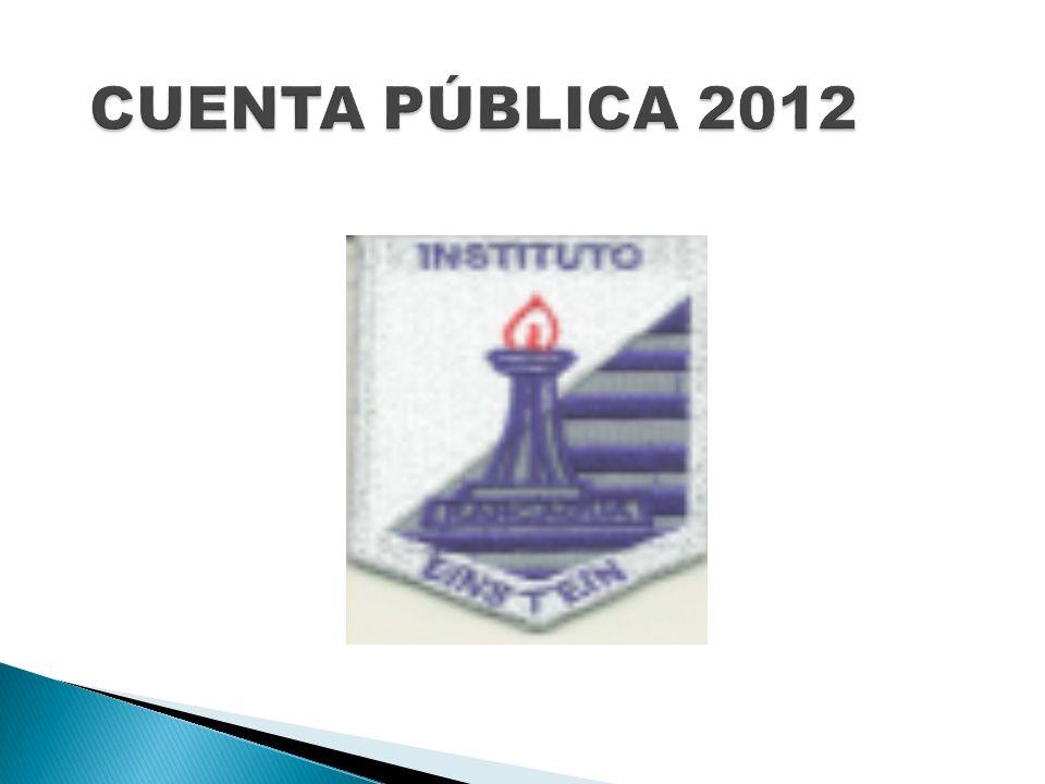 CUENTA PÚBLICA 2012