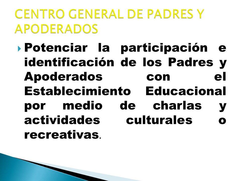 CENTRO GENERAL DE PADRES Y APODERADOS