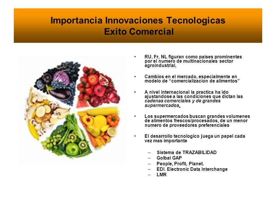Importancia Innovaciones Tecnologicas Exito Comercial