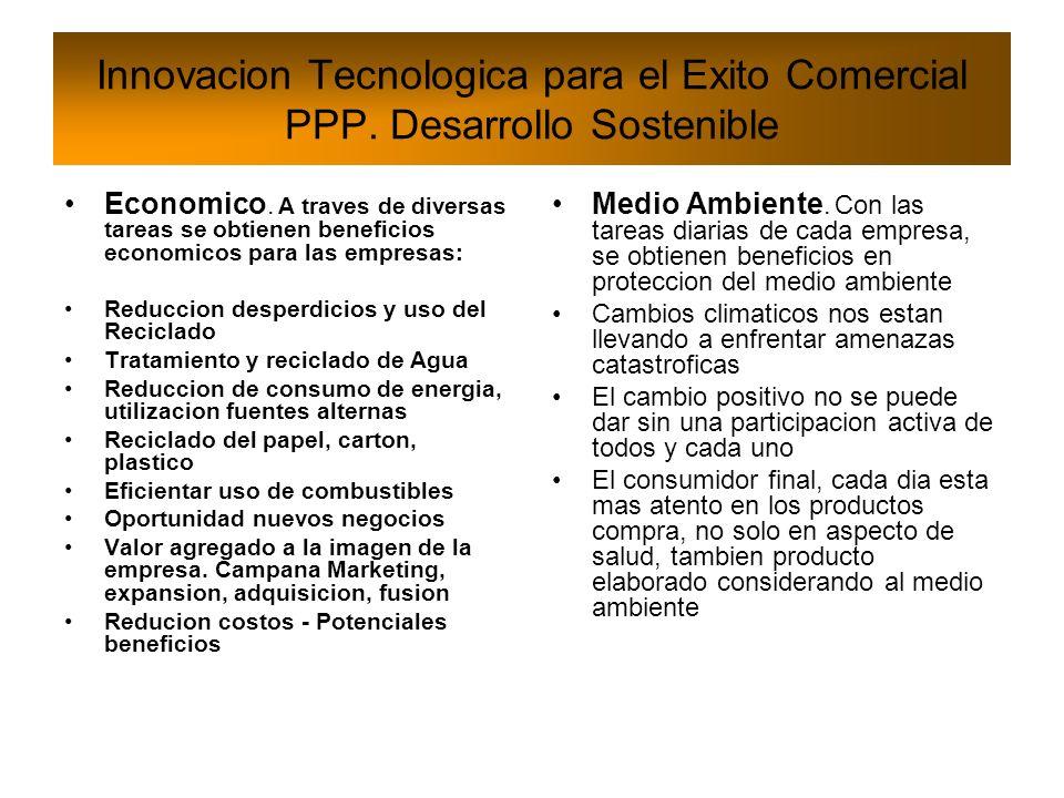 Innovacion Tecnologica para el Exito Comercial PPP