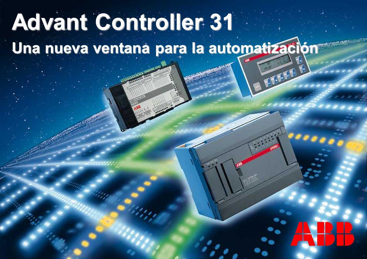 Advant Controller 31 Una nueva ventana para la automatización