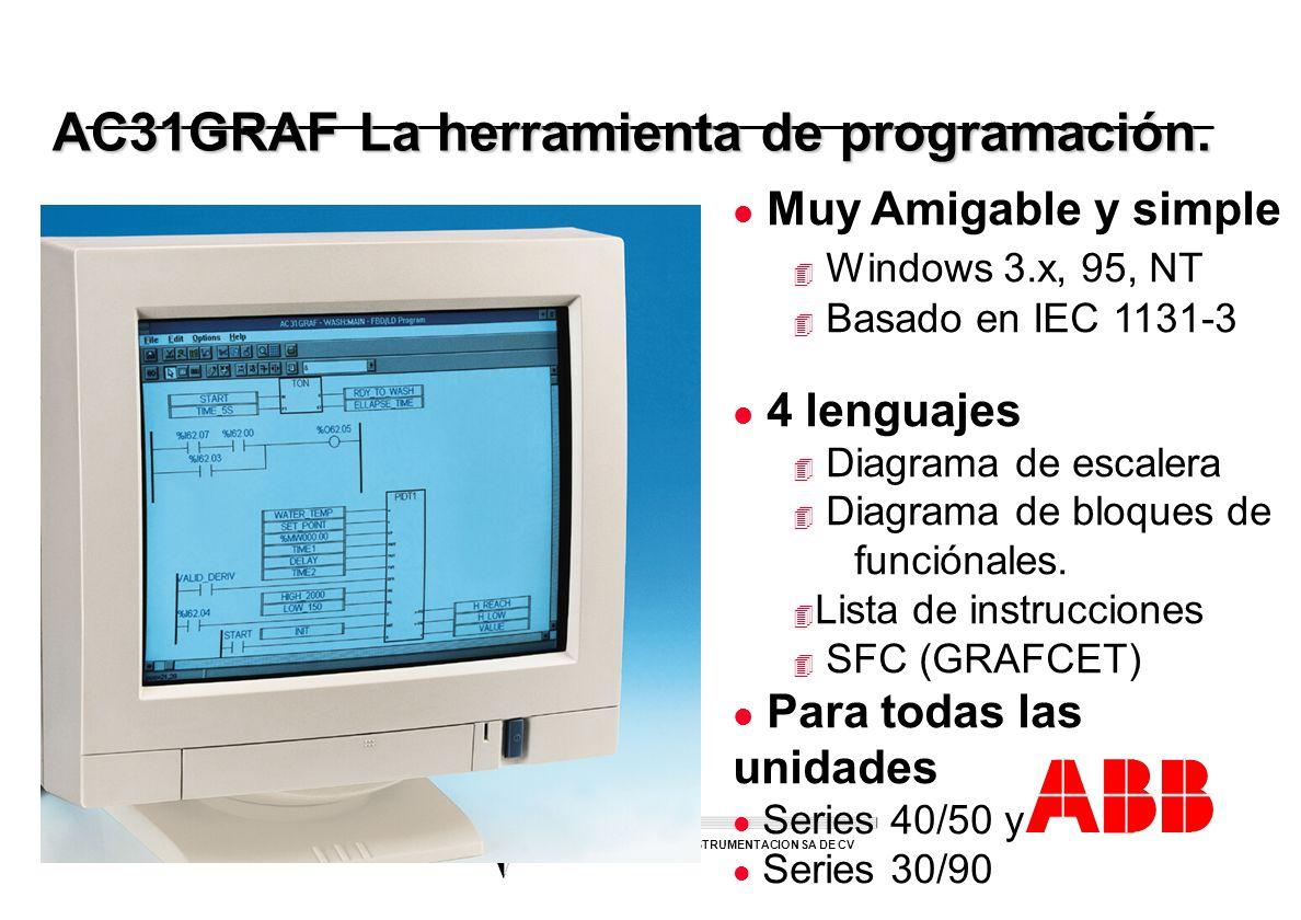 AC31GRAF La herramienta de programación.