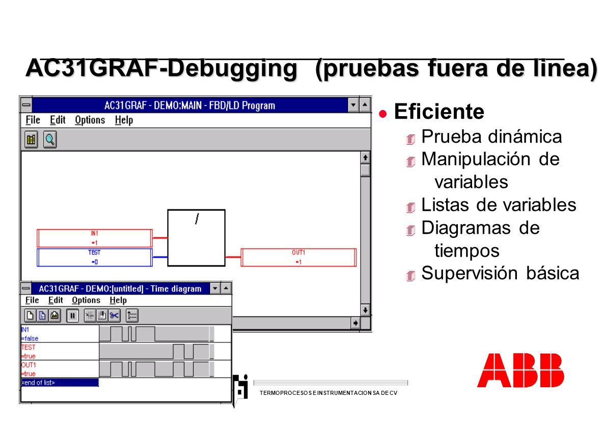 AC31GRAF-Debugging (pruebas fuera de linea)