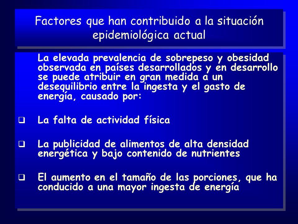 Factores que han contribuido a la situación epidemiológica actual