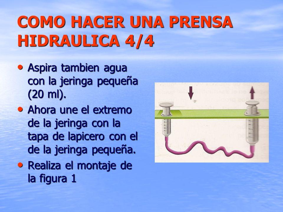 COMO HACER UNA PRENSA HIDRAULICA 4/4