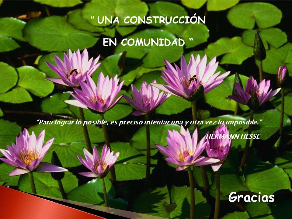 UNA CONSTRUCCIÓN EN COMUNIDAD