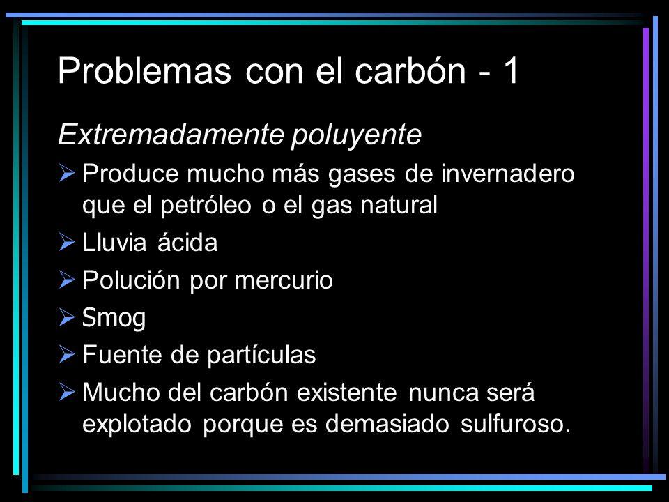 Problemas con el carbón - 1