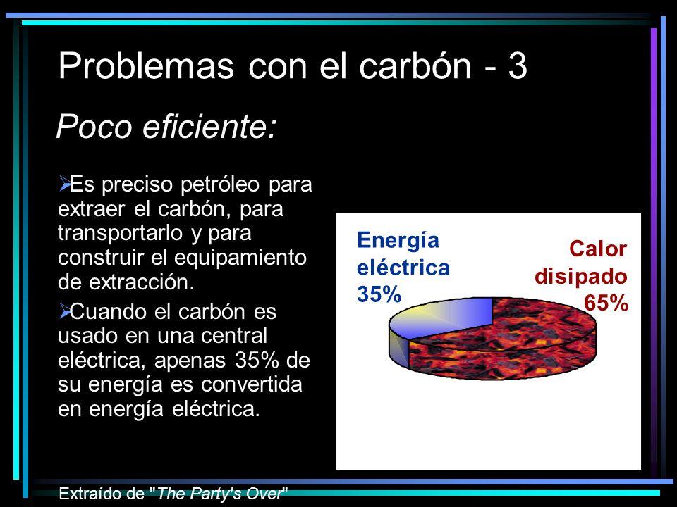 Problemas con el carbón - 3