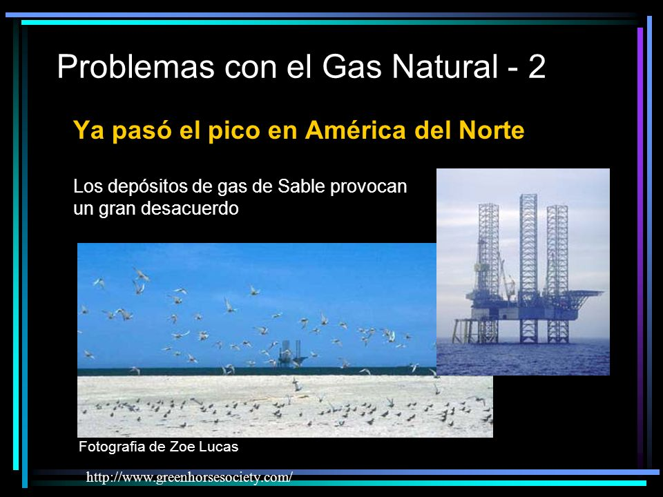 Problemas con el Gas Natural - 2