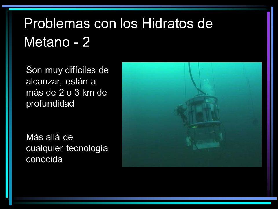 Problemas con los Hidratos de Metano - 2