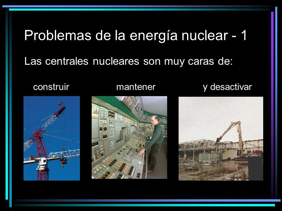 Problemas de la energía nuclear - 1