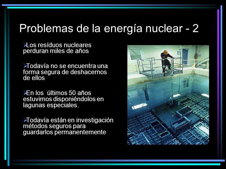 Problemas de la energía nuclear - 2