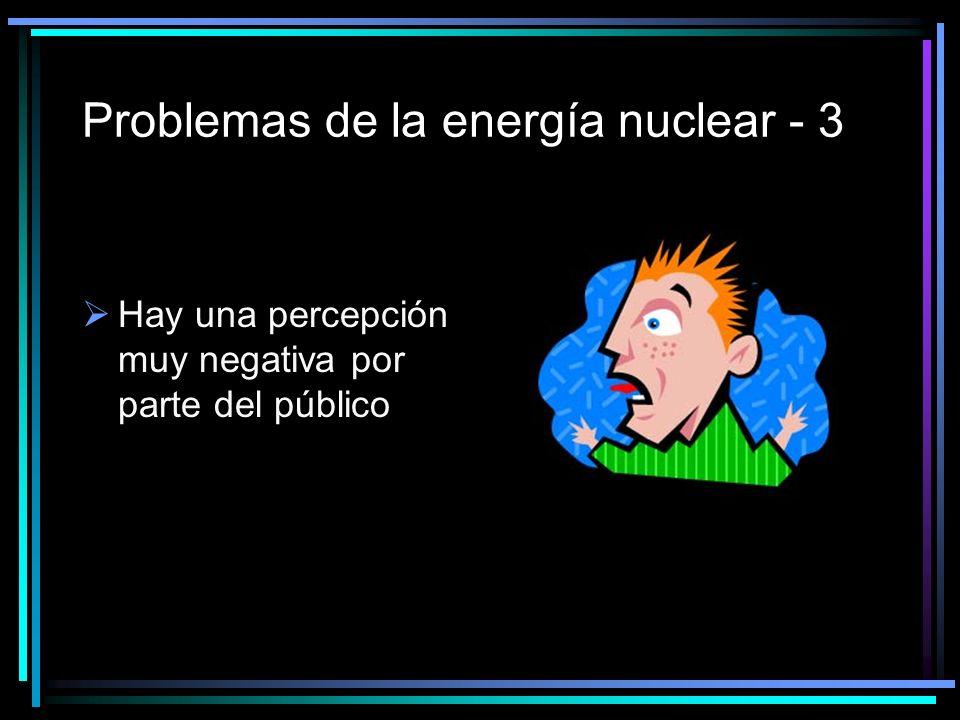 Problemas de la energía nuclear - 3
