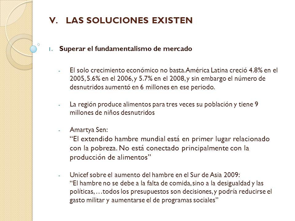LAS SOLUCIONES EXISTEN