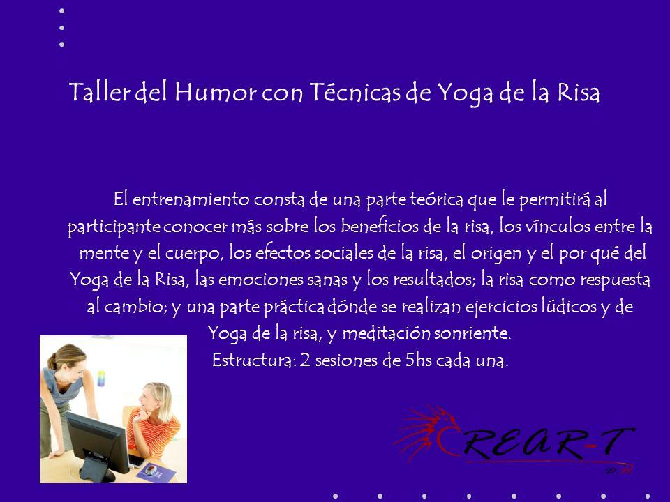 Taller del Humor con Técnicas de Yoga de la Risa