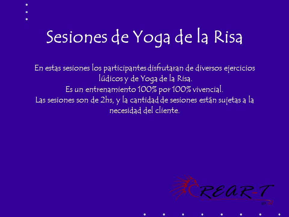 Sesiones de Yoga de la Risa