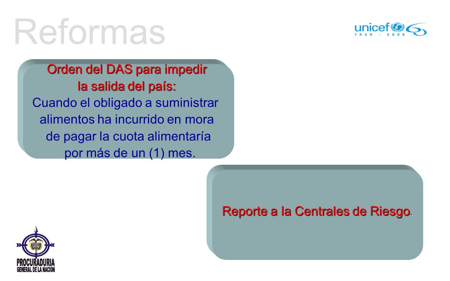 Reformas Orden del DAS para impedir la salida del país: