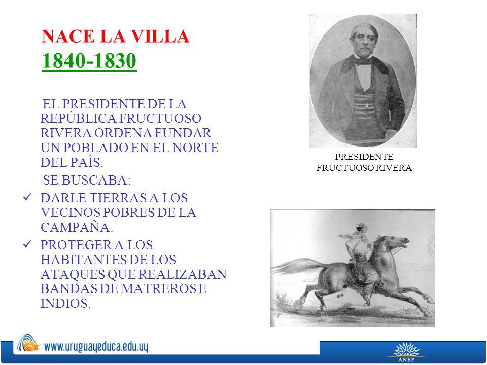 PRESIDENTE FRUCTUOSO RIVERA