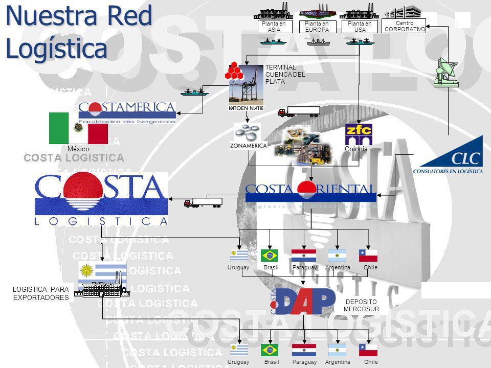 Nuestra Red Logística México Colonia LOGISTICA PARA EXPORTADORES
