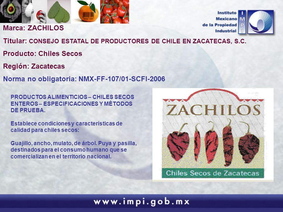 Titular: CONSEJO ESTATAL DE PRODUCTORES DE CHILE EN ZACATECAS, S.C.
