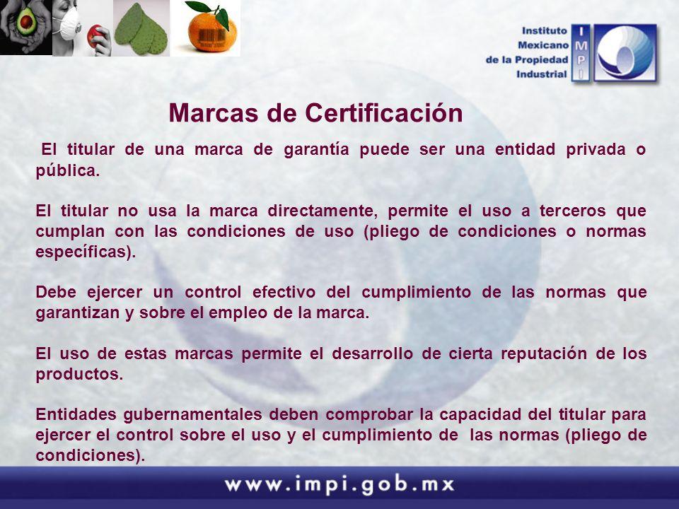 Marcas de Certificación