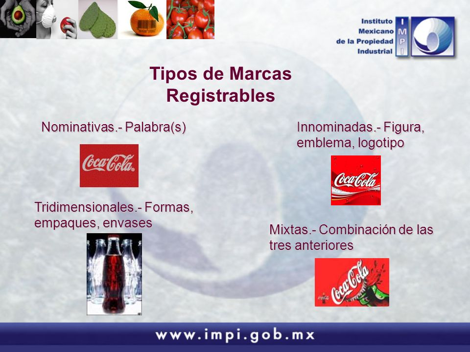 Tipos de Marcas Registrables