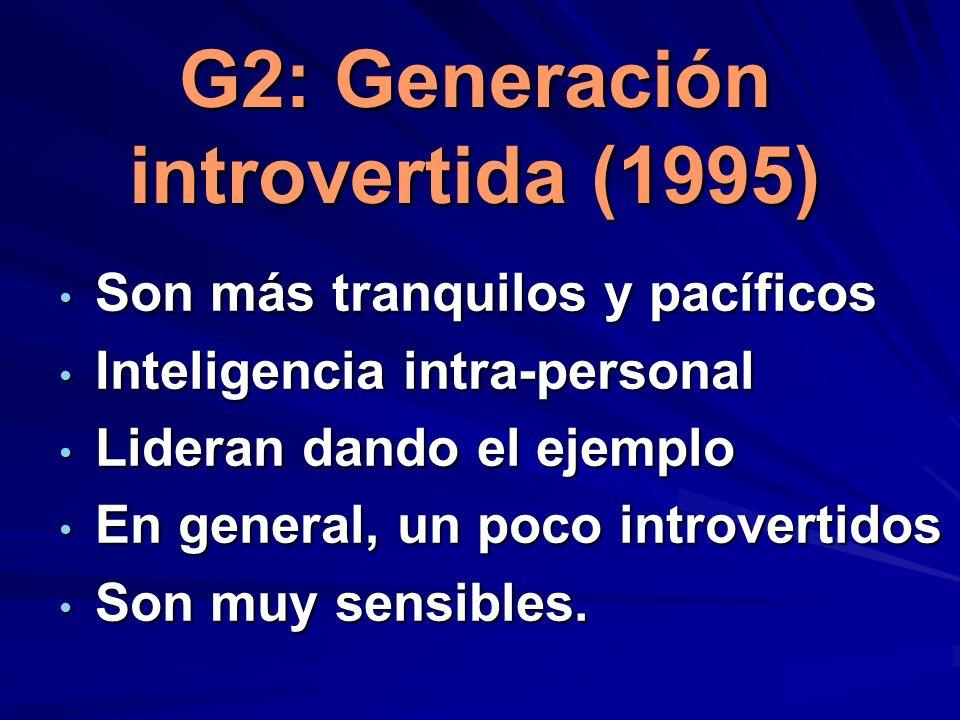 G2: Generación introvertida (1995)