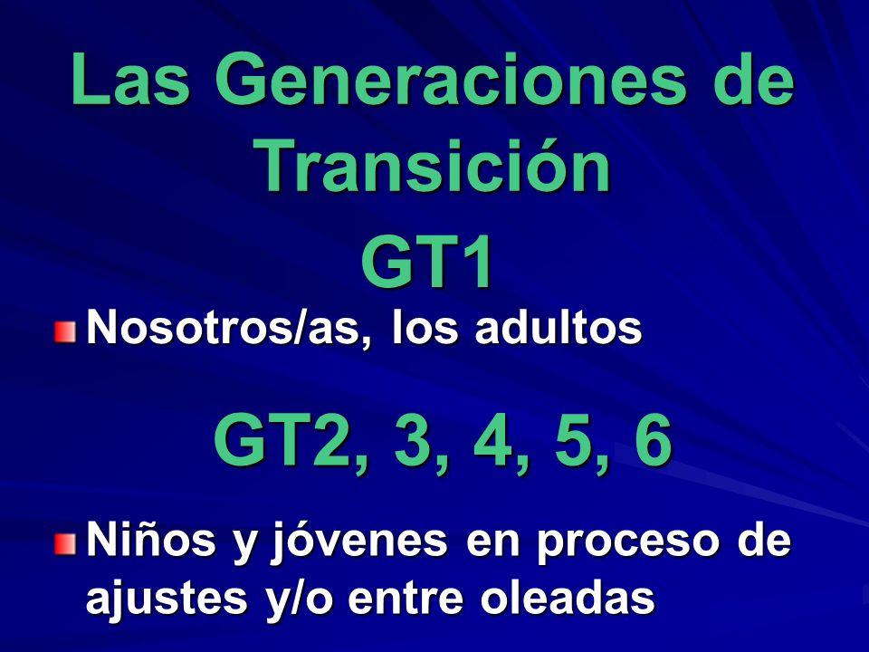 Las Generaciones de Transición