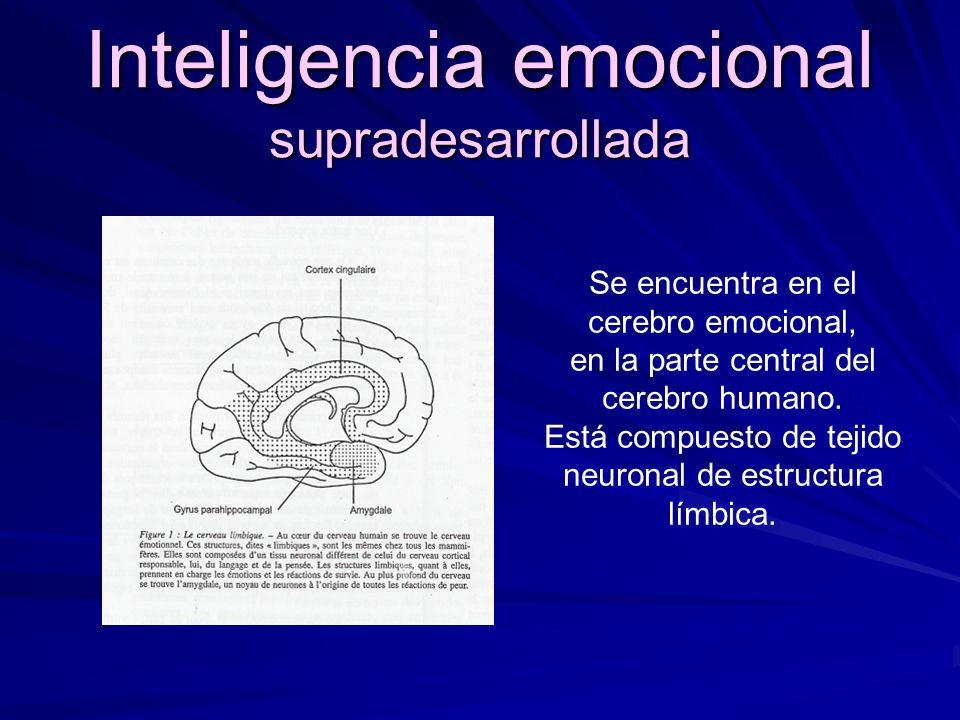 Inteligencia emocional supradesarrollada