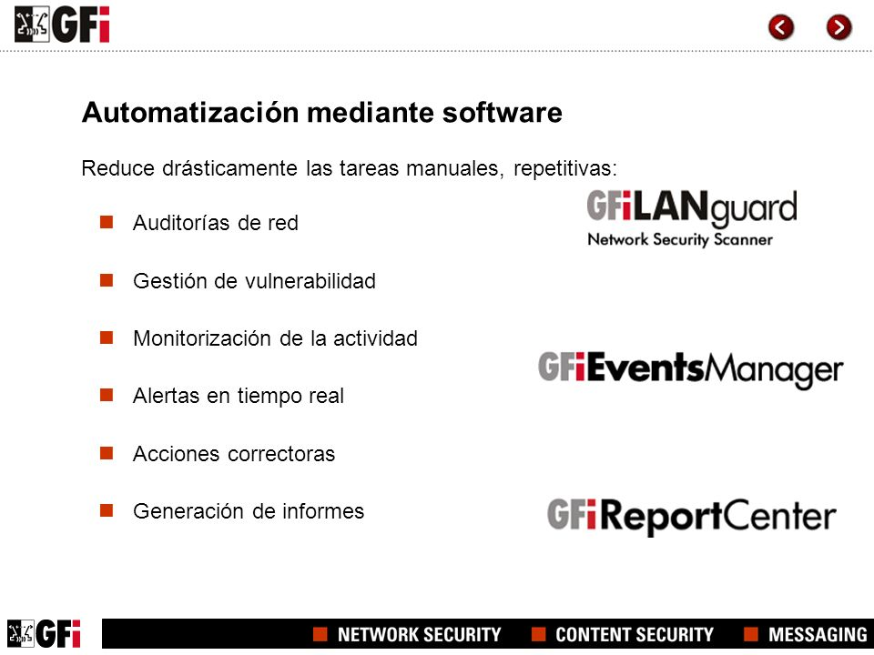 Automatización mediante software