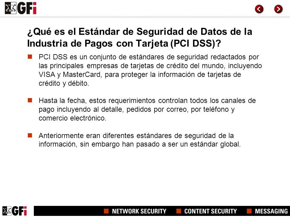 ¿Qué es el Estándar de Seguridad de Datos de la Industria de Pagos con Tarjeta (PCI DSS)