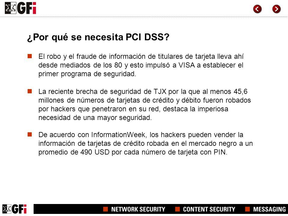 ¿Por qué se necesita PCI DSS