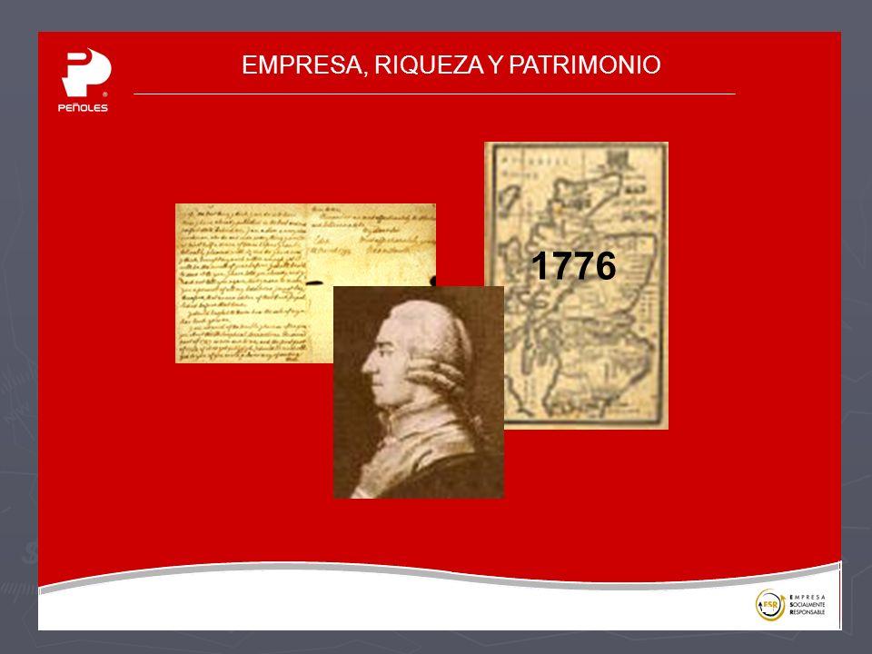 EMPRESA, RIQUEZA Y PATRIMONIO