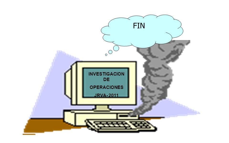 FIN INVESTIGACION DE OPERACIONES JRVA- 2011
