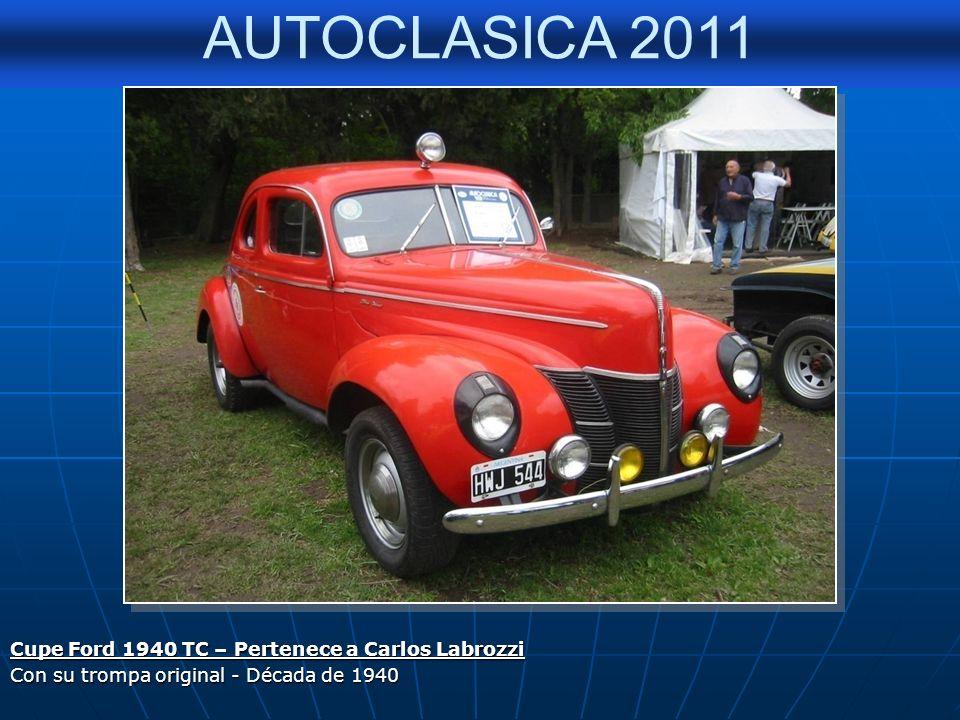 Cupe Ford 1940 TC – Pertenece a Carlos Labrozzi