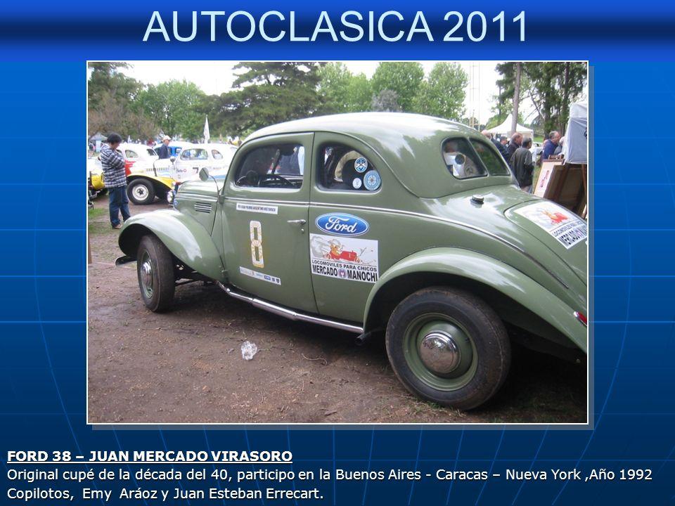 FORD 38 – JUAN MERCADO VIRASORO