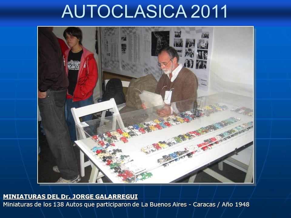 MINIATURAS DEL Dr. JORGE GALARREGUI