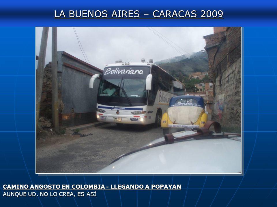 LA BUENOS AIRES – CARACAS 2009