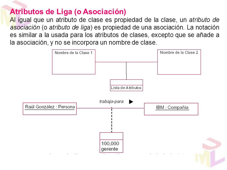 Atributos de Liga (o Asociación)