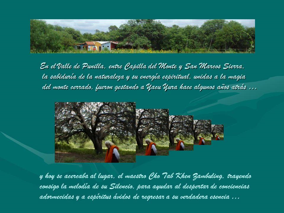 En el Valle de Punilla, entre Capilla del Monte y San Marcos Sierra, la sabiduría de la naturaleza y su energía espiritual, unidas a la magia del monte cerrado, fueron gestando a Yacu Yura hace algunos años atrás …